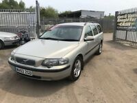2002 Volvo v70 2.4 petrol automatic 12 mths mot, full service history, 1 owner from new