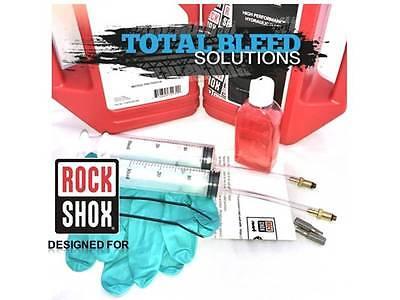 Bleed Kit For Rockshox Reverb   X Loc   100Ml 2 5Wt Rock Shox Suspension Oil