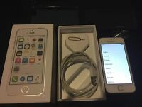 IPHONE 5S WHITE VODAPHONE MINT BOXED