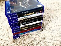 PS4 Games (Including rare collectors editions/statues)
