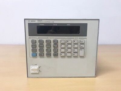 Agilent N3301a System Dc Electronic Load With N3303a 250w Electronic Load Module
