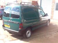 Citroen Berlingo Van 1.4 petrol, very low mileage, 12 months MOT.