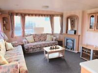 Static caravan for sale on Crimdon Dene holiday park Durham Heritage coast line Beautiful sea views