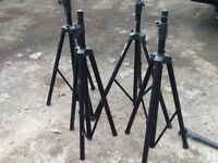 tripod stands for pa and lighting