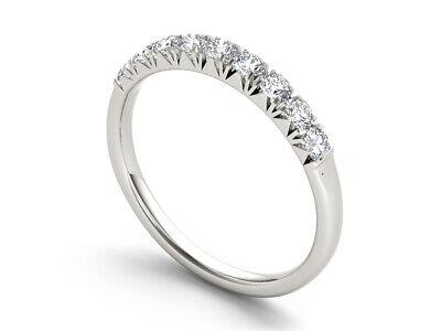 14k White Gold 2/5ct TDW Diamond Women's Wedding Band