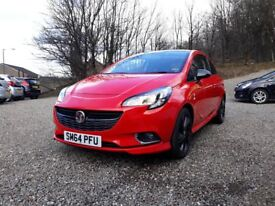 2015 Vauxhall Corsa 1.2 Limited Edition From only £35 per week