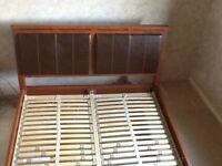King Size bed 7ft x5ft of robust design.