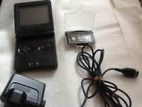 Gameboy advance sp with game and charger