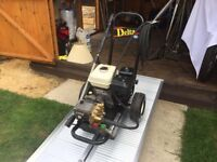 HONDA GX200 DELTA - VERY POWERFUL PETROL JET WASHER PRESSURE WASHER - WAS £1200 - CHEAP AT £400