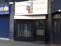 Single fronted shop for rent in busy area across from Coia's