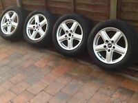 Mini Countryman alloy wheels and tyres