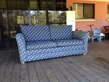 Couch/pull out frame bed Tanawha Maroochydore Area Preview