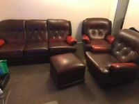 Sofa and two armchairs -FREE