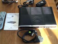 SAGEM Digital Terrestrial TV Receiver/Recorder with Hard Disk and Double Tuner.