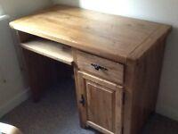 Solid Oak Desk