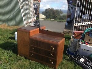 Dressing Table with mirror drawers cupboard Longford Northern Midlands Preview