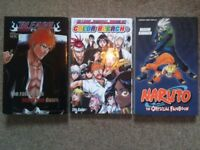 Naruto Official Fan Book + Bleach fan book + color