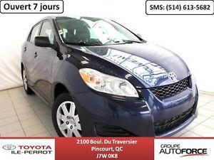 2012 Toyota Matrix *BAS KILO* A/C, GR ÉLEC, CRUISE