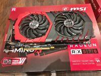 Graphics Card MSI AMD Radeon RX 570 4gb Gaming X