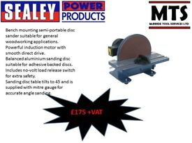 SEALEY SM31 DISC SANDER 240V