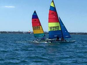Hobie Cat 16 ready to race or for fun recreational sailing Port Melbourne Port Phillip Preview