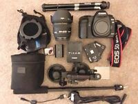 Canon 5D Mrk ii DLSR camera with sigma 50mm 1:1.4 DG hsm plus Extras (great deal)