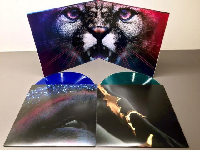 Cliff Martinez The Neon Demon OST LP US 1st Press LTD BLUE GREEN Vinyl Variant