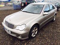 2006 Mercedes C200**MOT July2018**FULL SRV HST**2 F keepers**2 Keys**Bluetooth & Aux**LEATHER TRIM**