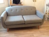 "Large 2 seater sofa DFS ""Laze "" part of the Capsule collection only 5 weeks old"