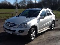 Mercedes ML320 Sport - 3.0 Diesel - 2008 - PX Welcome - Mercedes Sat-Nav - 30 MPG - VGC - ML 320