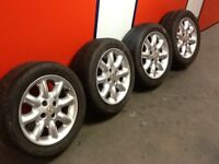 15 inch MGF alloys with Toyo Proxes fitted