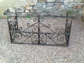 Wrought Iron decorative surround