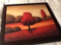 John Lewis Gregory Williams framed picture painting