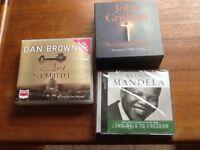 3 Audio books New