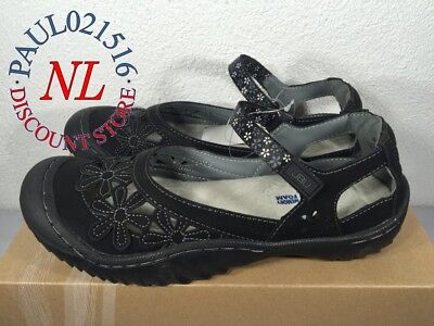 JBU Ladies' Wildflower Sandals ~ Black ~ Various Sizes ! !