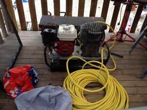Dive compressor Honda 5.5 hp Howrah Clarence Area Preview