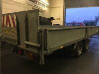 Ifor Williams tilt bed trailer