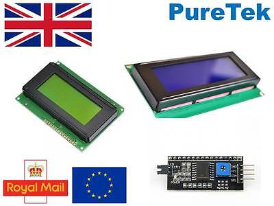 Lcd Display Blue Greenyellow 1602 16x2 Or 2004 20x4 Or 1604 16x4 For Arduino