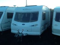 2004 luner clubman 475ck /2 berth end changing room with fitted mover & awning