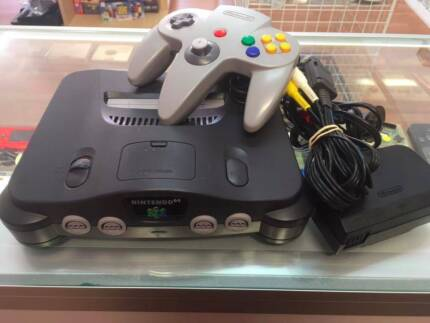 Nintendo 64 plus all leads &controller and 40 days Warranty!!