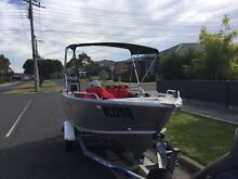 2012 Quintrex Renegade 4.2 meters with 50 HP Yamaha Altona Hobsons Bay Area Preview