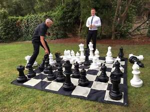 Big giant lawn games entertainment engagement wedding hire party Elanora Gold Coast South Preview