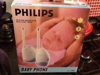 Phillips baby phone intercom