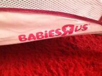 Babies Ru travel cot / play pen .
