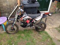 demon x pit bike