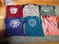 T shirts various sizes