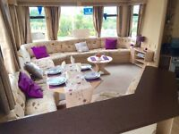 Static caravan for sale isle of wight, 8 berth, site fees paid until 2018, 12 month seafront park