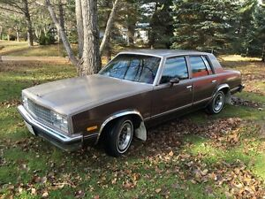 1983 Chevrolet Malibu 36,000 Original Km Barn Find One Of A Kind