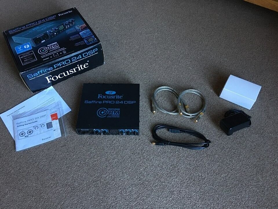 Focusrite Saffire Pro 24 DSP Firewire Guitar Audio Interface Brand New | in  Winchester, Hampshire | Gumtree