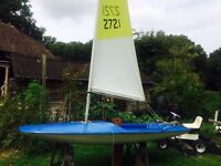 """Topper"" sailing boat"
